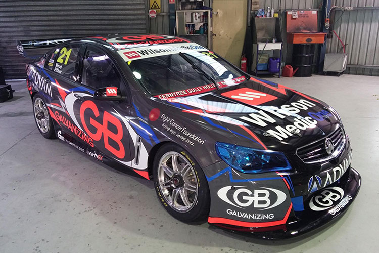 BJR reveal new Team ADVAM/GB livery
