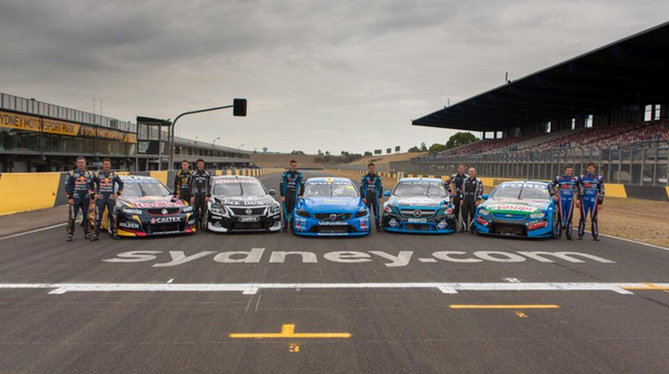 2014 V8 Supercars pre-season test day