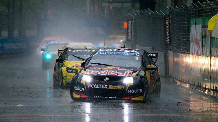 Whincup wins rain-shortened Race 37