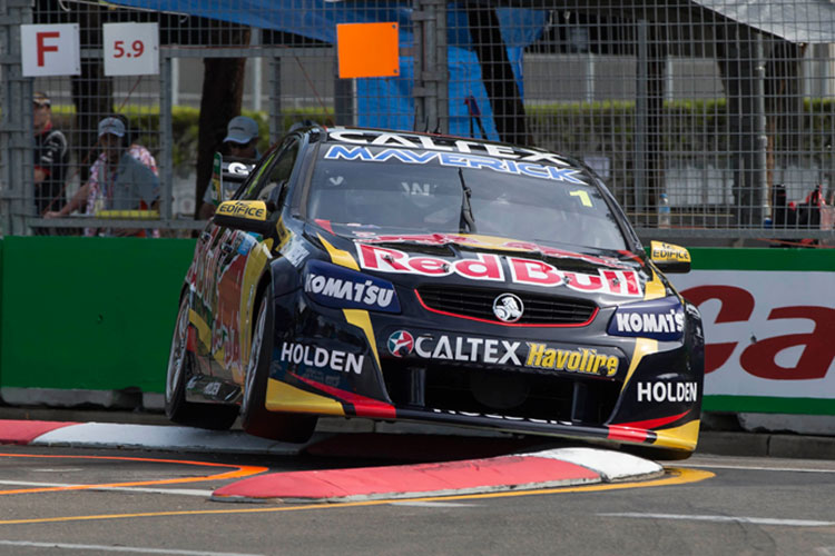 Race 36 Winner Jamie Whincup