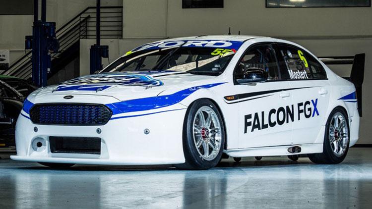 Ford Falcon FG X bodywork side on