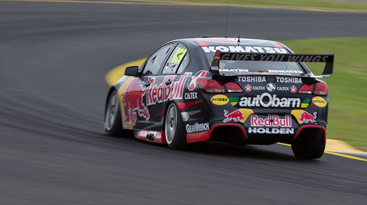 Red Bull Racing Commodore at the V8 Supercars SuperTest 2015