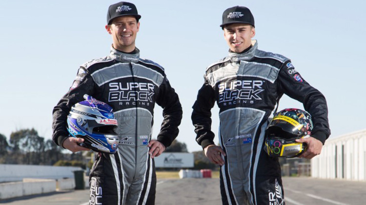 Ant Pedersen and Andre Heimgartner team up for the 2015 V8 Supercars Pirtek Enduro Cup