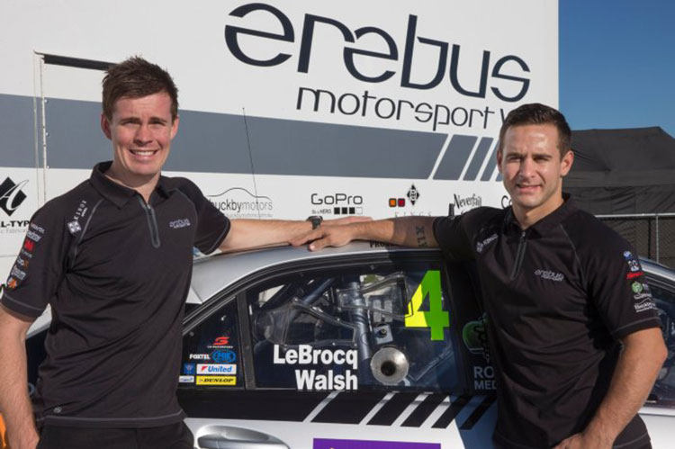 Ash Walsh and Jack Le Brocq pair for the 2015 Pirtek Enduro Cup