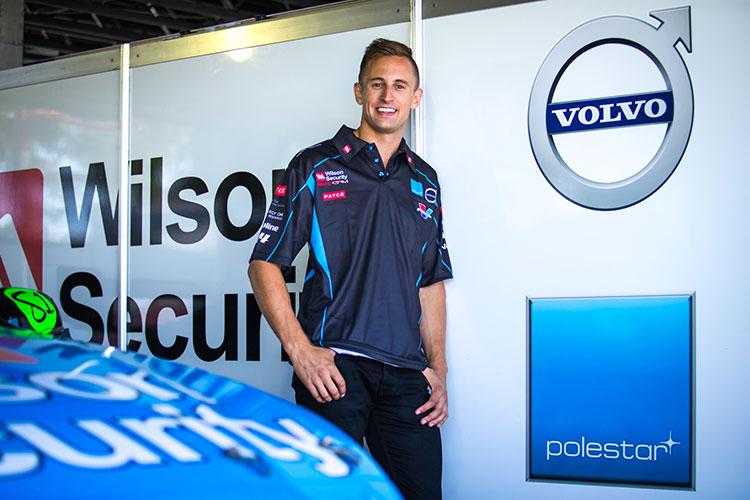 Chris Pither will join David Wall in the #34 Volvo
