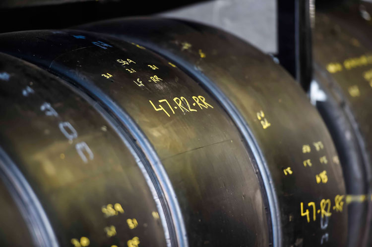 Extra set of practice tyres for Winton SuperSprint