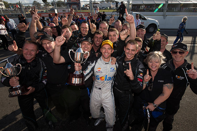 Memorable win for Will Davison and Erebus Motorsport in Perth