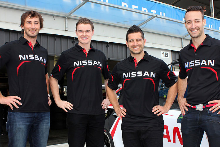 Nissan Motorsport co-drivers
