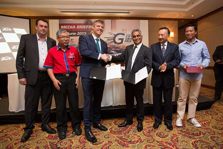 V8 Supercars set to headline Kuala Lumpur City Grand Prix from 2016