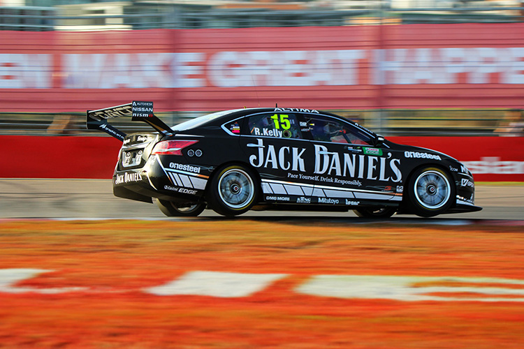 David Russell and Rick Kelly team up for the Pirtek Enduro Cup