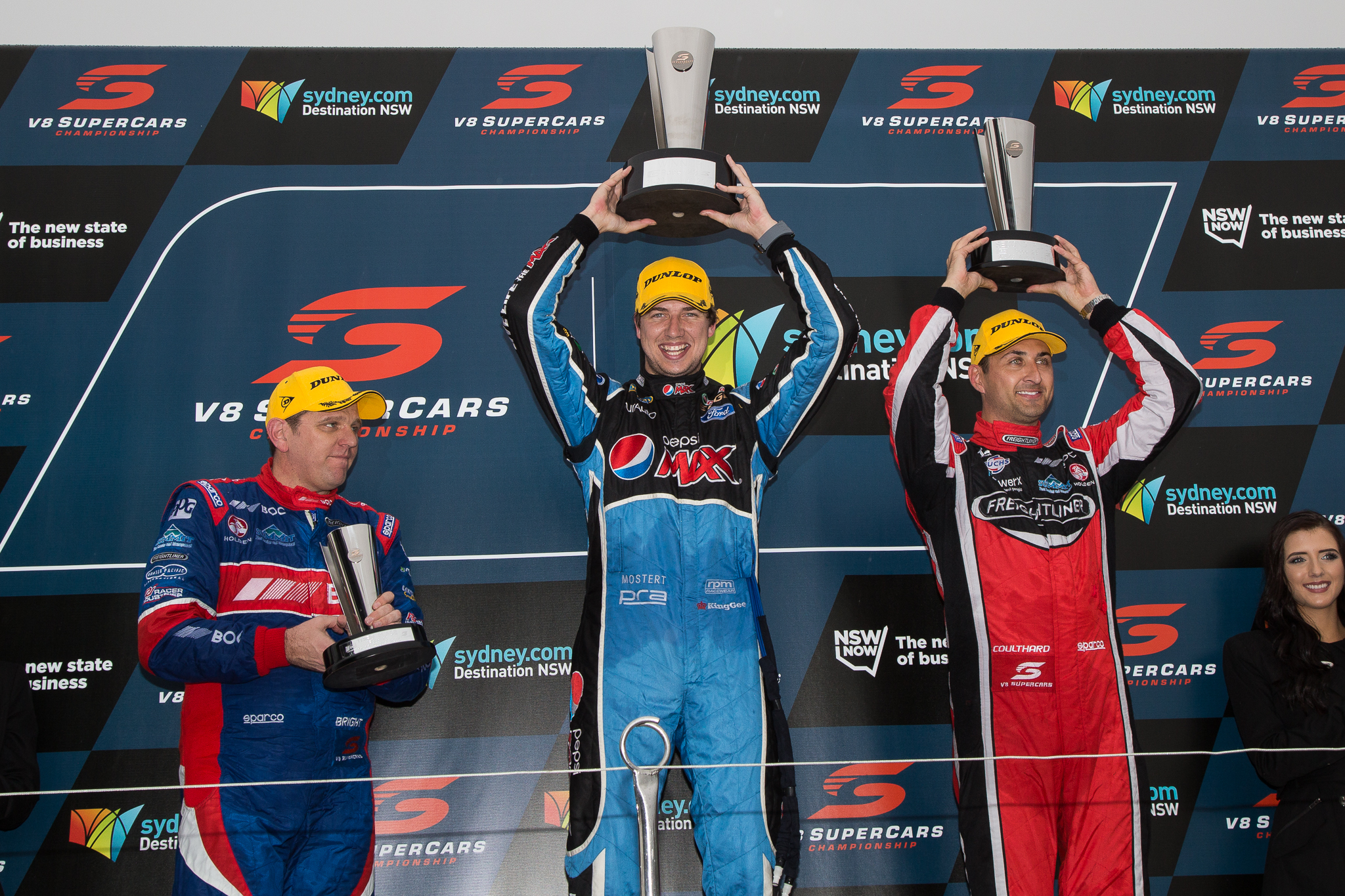 Chaz Mostert closes the championship gap to his team-mate Photo by Rhys Vandersyde