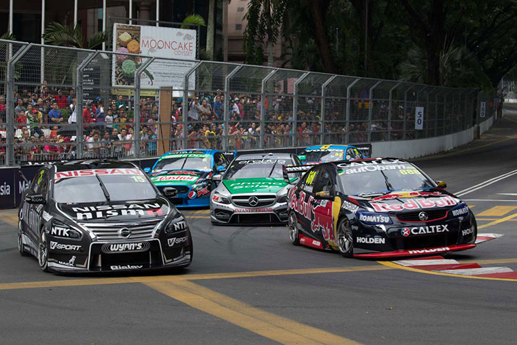KL City Grand Prix on the 2016 V8 Supercars Calendar