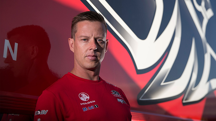 James Courtney out of the Bathurst 1000