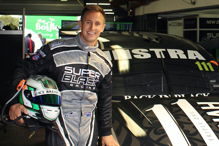 Chris Pither secures full time drive at Super Black Racing
