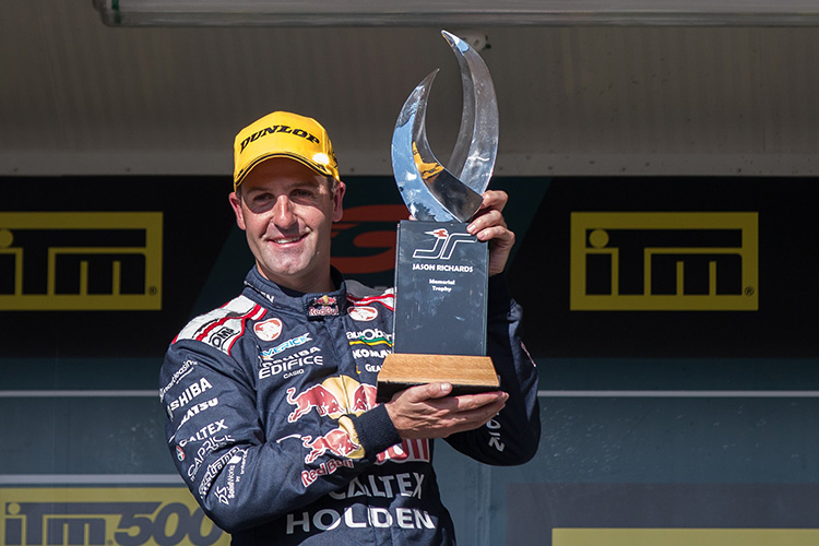 Jamie Whincup wins Jason Richards Memorial Trophy at Pukekohe