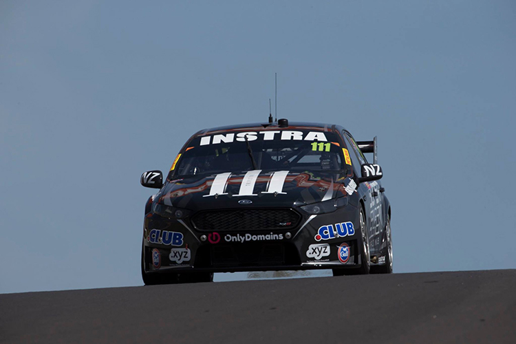 Chris Pither will replace Andre Heimgartner in the #111 Super Black Racing Falcon at Phillip Island