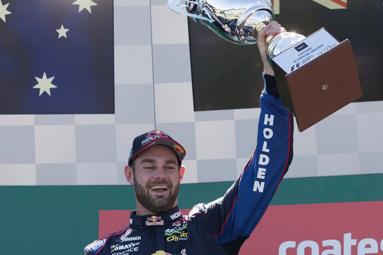 Shane van Gisbergen wins the 2016 Coates Hire V8 Supercars Challenge at Albert Park