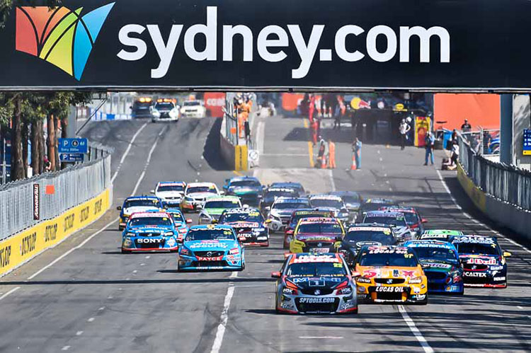 The 2016 Sydney 500 will be the last held on the Sydney Olympic Park street circuit