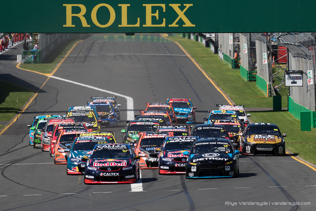 V8 Supercars at the Australian Grand Prix