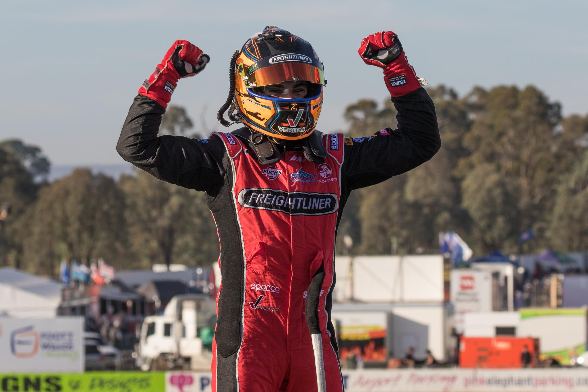 Tim Slade was the big winner at Winton Raceway - Photo: Rhys Vandersyde
