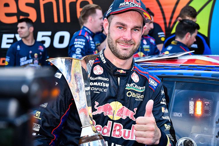 2016 Supercars champion Shane van Gisbergen