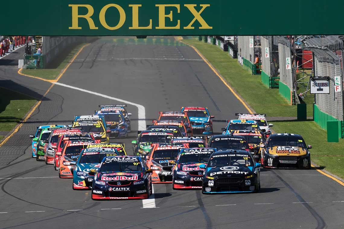 F1 Australian Grand Prix Supercars Challenge