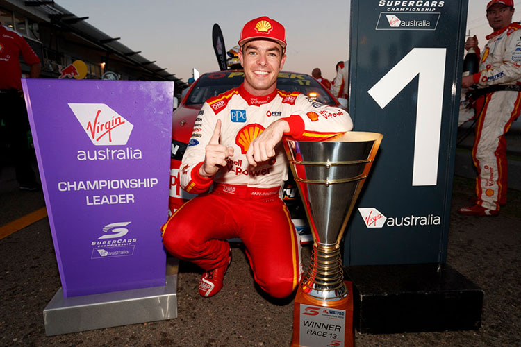 Townsville 400 race winner Scott McLaughlin