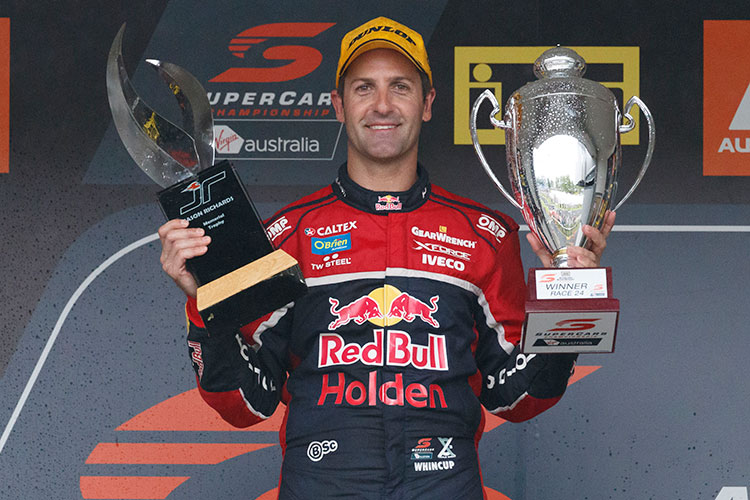 Jamie Whincup ITM Auckland SuperSprint