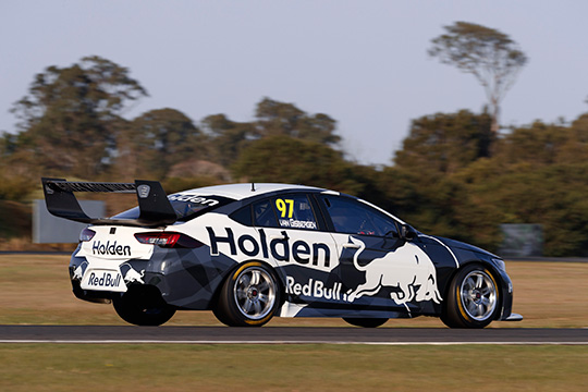 Holden ZB Commodore Supercar rear wing