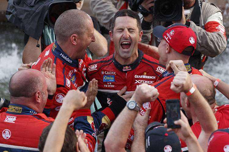 Jamie Whincup 2017 Newcastle 500