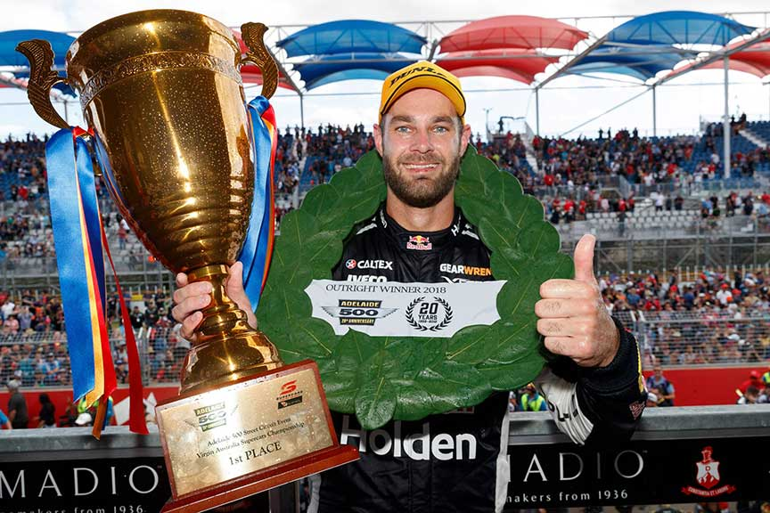 Shane van Gisbergen clean sweeps the 2018 Adelaide 500