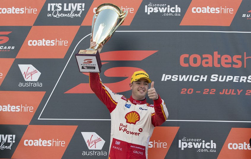 Scott McLaughlin celebrates win number seven in 2018 with victory at the Ipswich SuperSprint