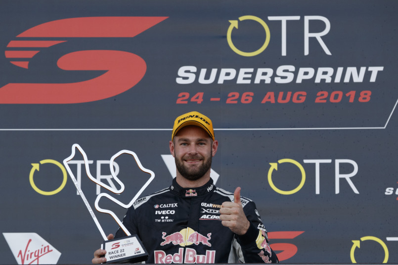 Shane van Gisbergen at The Bend SuperSprint