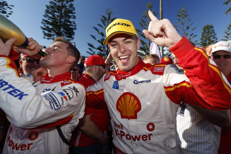 2018 Supercars champion Scott McLaughlin.